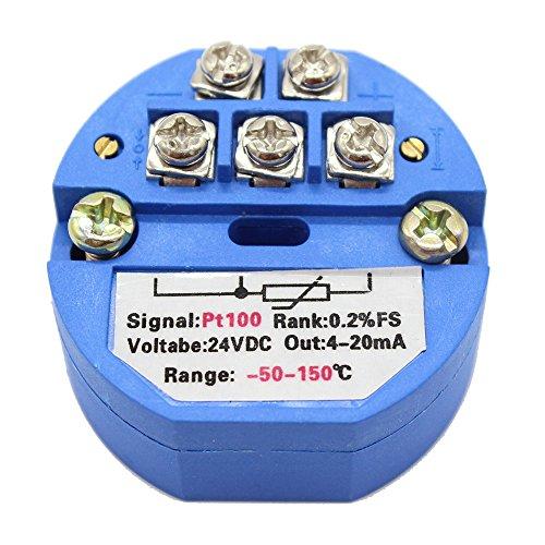 T-PRO RTD PT100 Temperature Sensor Transmitter Various Specification (-50150)