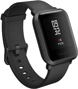 Amazfit A1608B Bip Smartwatch (Black onyx)