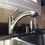 Moen 87017SRS Pullout Spray Kitchen Faucet from the