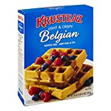 Krusteaz Belgian Supreme Waffle Mix, 28-Ounce Box (Pack of 4)