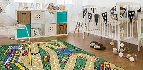 neon color rugs for cars - 2