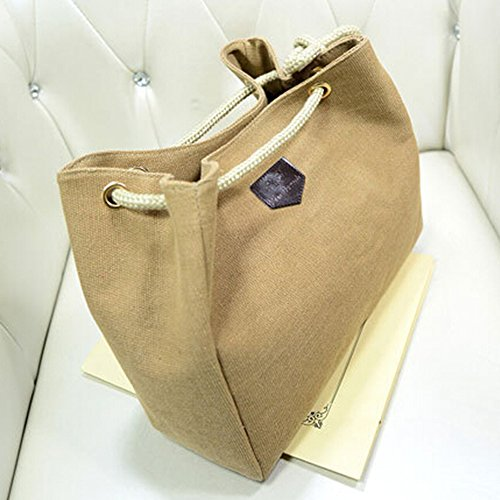 Girl Messenger Women Fashion Handbag Shoulder Canvas Catnew Khaki Satchel Purse Bag Hobo Tote n0Ed1