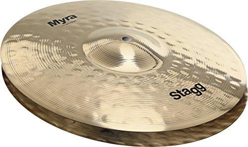Stagg MY-HB14 Myra Bite Hi-Hat Cymbals - 14 [並行輸入品] B07DXB1P87
