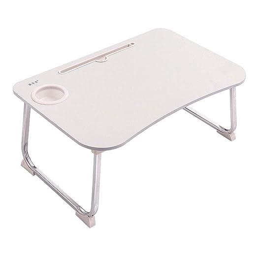 AXIANQIDesk Escritorio Plegable de Aluminio Ordenador portátil ...