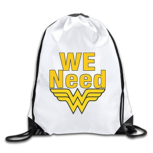 Coreco We Need Wonder Woman Drawstring Backpack Sack - Oakley Size Guide