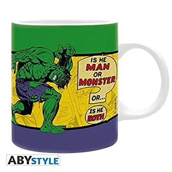 320 Hulk VintageCuisine Mug Marvel Abystyle Ml QCsdthrx