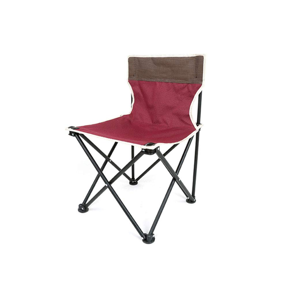 Kaiyu Outdoor Klappstuhl Portable Stuhl Freizeit Stuhl Strand Stuhl Skizze Angeln Stuhl Gartenstuhl 36x36x60cm