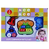 Mee Mee Cute Companion Rattle Set