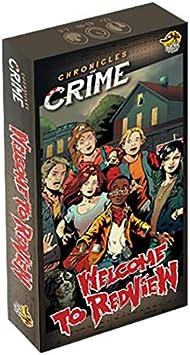 Cronicas del Crimen: Bienvenido a Redview - Expansión Juego de Mesa [Castellano]: Amazon.es: Juguetes y juegos
