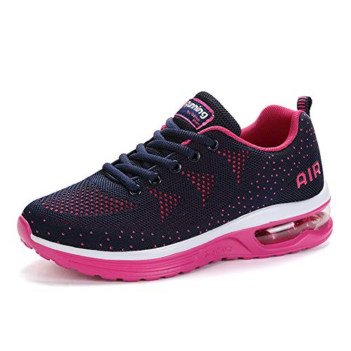 Outdoor 46EU Style 36EU Respirante Running Bleu Air Sneakers Axcone Homme Multicolore Baskets Chaussures Rouge Femme Sport Running Fitness Gym A4XaqP