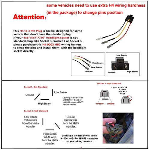 h4651 headlight socket wiring diagram wiring diagram ford truck wiring diagrams h6545 headlight wiring diagram #4