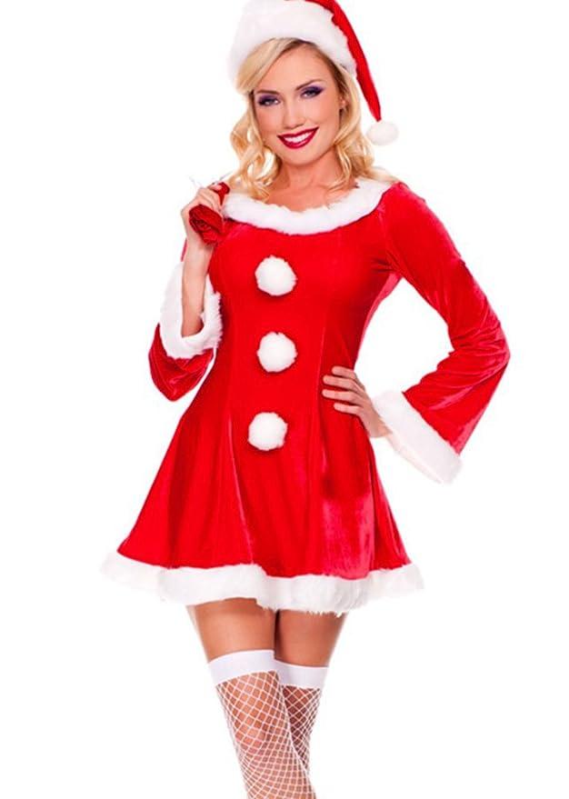 3 opinioni per Baymate Donna di Natale Costumi del Partito Carnevale Cosplay Principessa