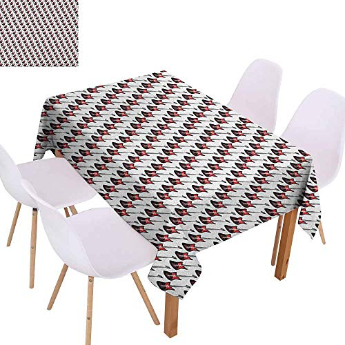 Polyester Tablecloth Guitar Repeating Graphic Electric Guitars in