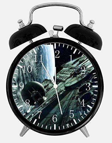 New Starwars Alarm Desk Clock 3.75