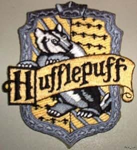 Amazon.com: HARRY POTTER HUFFLEPUFF CREST PATCH