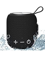 Portable Bluetooth Speaker,SANAG Bluetooth 5.0 Dual Pairing Loud Wireless Mini Speaker, 360 HD Surround Sound & Rich Stereo Bass,24H Playtime, IP67 Waterproof for Travel, Outdoors, Home and Party