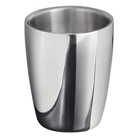 InterDesign Forma - Vaso, Acero Inoxidable Pulido