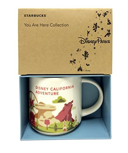 Starbucks You Are Here Mug Disney California Adventure Edition (Park Christmas Disneyland)
