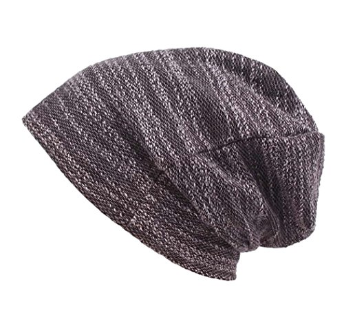 Slouchy Beanie Hat - Soft Cozy Daily Beanies in Fine Knit Unisex Thin Black Skullcap