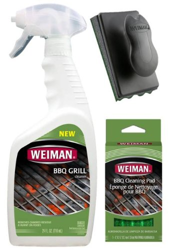 Weiman BBQ Grill Cleaning Kit