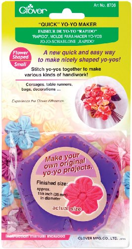 Clover Quick Yo-Yo Maker-Flower 1-3/8""