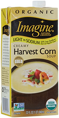 Imagine Organic Creamy Harvest Corn Soup-32 oz