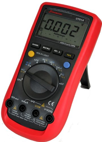 Sinometer UT61A Auto-ranging AC DC Digital Multimeter with Non-contact Voltage Detector