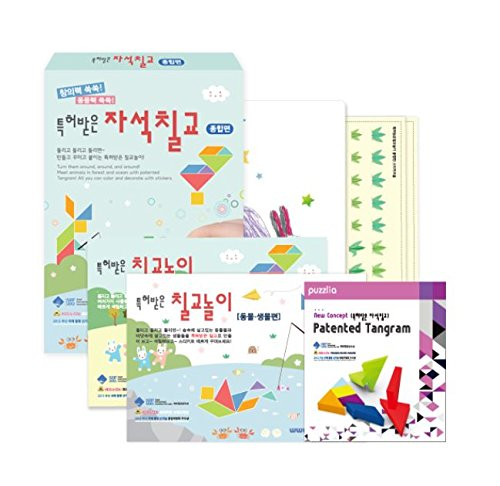Patented Magnet Tangram Puzzle Set for Child