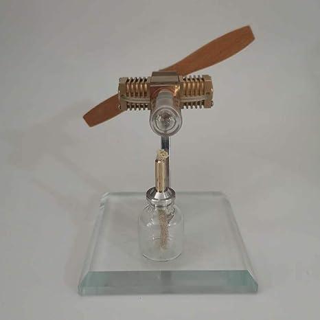 Teakpeak Stirling Modell Stirlingmotor Modell Propeller Flugzeugkopfform Stirling Engine Model