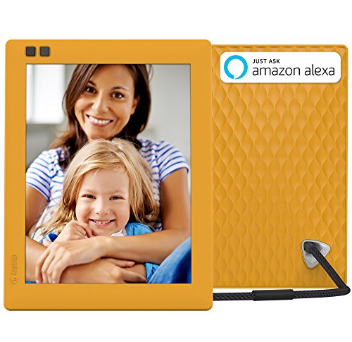 Nixplay Seed 8 Inch WiFi Cloud Digital Photo Frame with IPS Display, iPhone & Android App, iOS Video Playback, Free 10GB Online Storage, Alexa Integration and Hu-Motion Sensor – Mango (W08D) Review