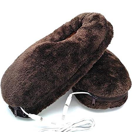 Amazon.com: Zapatillas de calefacción, calientes, calientes ...