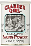 Clabber Girl Double Acting Baking Powder 8.1 Oz Can (8.1 Oz 3 Cans)