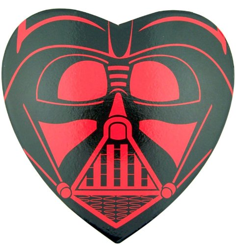 Amazon.com : Star Wars Fan Valentines Day Gift Darth Vader Box Container  With Gummy Heart Candy : Grocery U0026 Gourmet Food