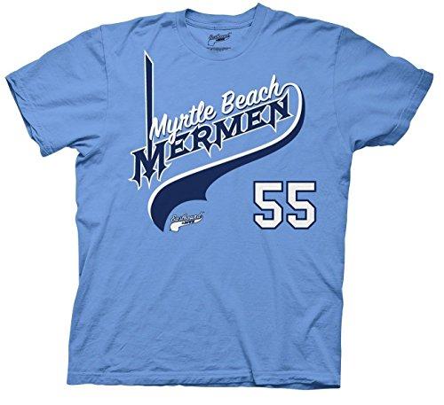 Eastbound & Down Myrtle Beach Mermen 55 T-shirt - Beach Myrtle Beach Stores