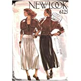 Simplicity Creative Patterns New Look 6125 Misses' Dress, A (10-12-14-16-18-20-22)