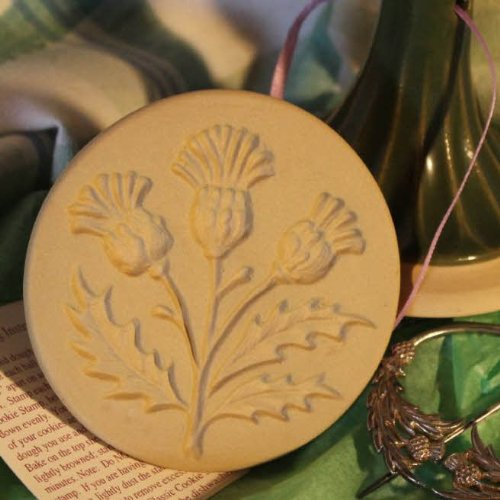 Brown Bag Thistle Cookie Stamp - British Isle Series