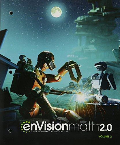 ENVISION MATH 2.0 STUDENT EDITION GRADE 7 VOLUME 2 COPYRIGHT 2017