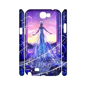 GTROCG Frozen Elsa Phone 3D Case For Samsung Galaxy Note 2 N7100 [Pattern-2]