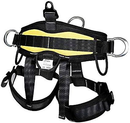 YDXYZ Arnés de escalada de medio cuerpo Cinturón for rescate de ...