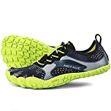 ALEADER hiitave Men/Womens Minimalist Barefoot Trail Running Shoes Wide Toe Glove Cross Trainers