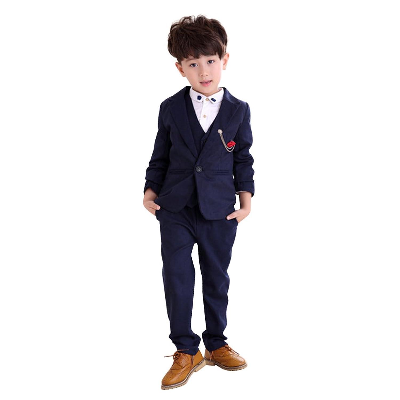 1b22b307b2e8e 子供服 キッズ フォーマル スーツ 男の子 スーツ 紳士服 卒業式 七五三 ...