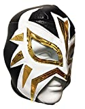 LA MASCARA Adult Lucha Libre Wrestling Mask (pro-fit) Costume Wear - BLACK