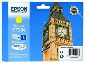 Epson T703440 Workforce PRO WP 4015/4025/4545 - Cartucho de tinta