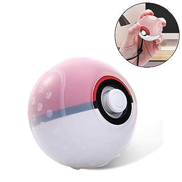 Estuche para Nintendo Switch Pokeball Plus Controller, cubierta protectora de silicona suave con tapa dura Case para Pokeball Plus Controller Pokémon ...