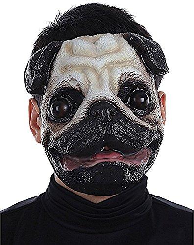 Mario Chiodo Plastic Face Masks Pug ()