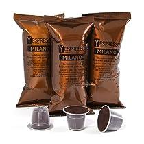 Yespresso Capsule Nespresso Compatibili - Confezione da 100 Pezzi