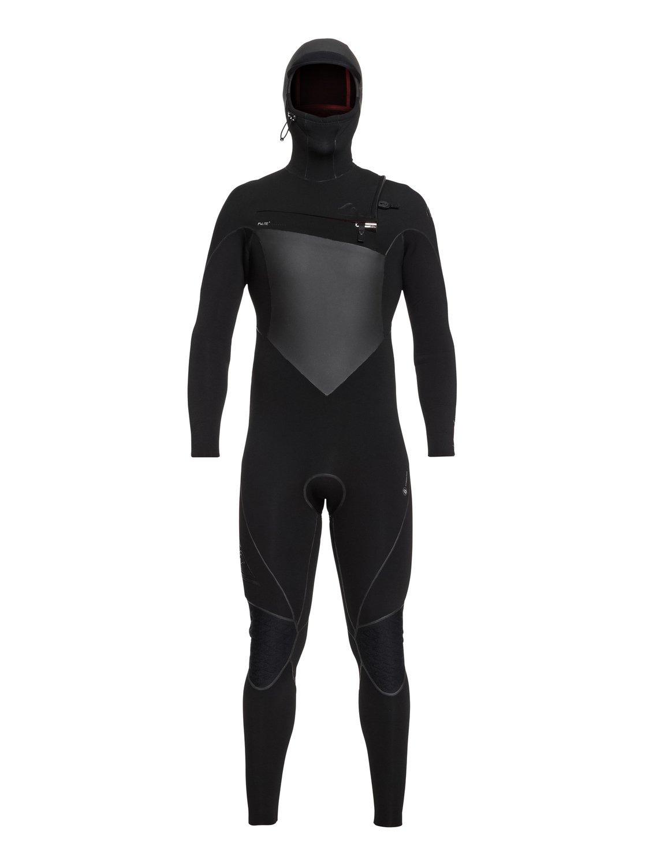 Quiksilver Mens 6/5/4 Highline+ Cz Hyd Hd Black Full Wetsuit Size MT   B07F9S6MRT