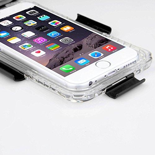 SAVFY® IP68 wasserdichte Handytasche Etui Handy Schutztasche fur iPhone 6, 4.7 Zoll -Blau