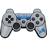 Skinit NFL Detroit Lions PS3 Dual Shock wireless controller Skin - Detroit Lions Grey Performance Series Design - Ultra Thin, Lightweight Vinyl Decal Protection