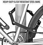 FOLDYLOCK Compact Bike Lock Black | Extreme Bike